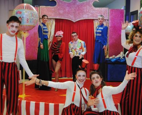 circus party 10