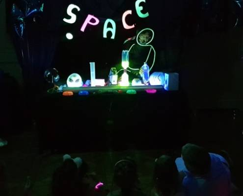 space party 16