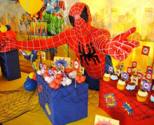 spiderman party 1