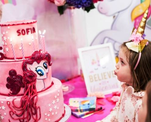 UNICORN PARTY & cake design