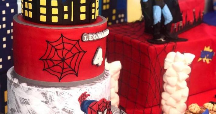 spiderman birthday party lugano