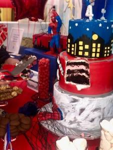 spiderman & batman festa a tema per bambini