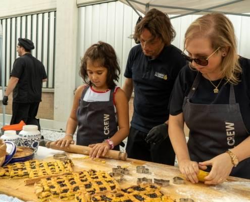 kitchen lab family day organizzazione