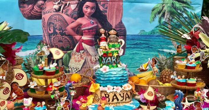 Moana kids party lugano