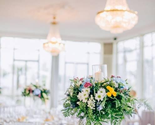 wedding flower design Lake Maggiore